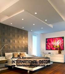 Modern Ceiling Design For Bedroom Beautiful Wall Ceiling Designs For Home Contemporary Interior