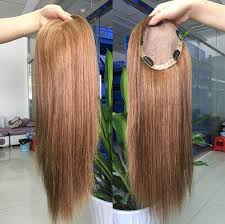thin hair pull through wigltes clips in human hair toppers for thinning hair