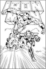 free coloring pages for kids 100 new iron man coloring pages free