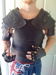 Fallout Clothes For Sale Black Spiked Leather Armor By Dragon8or On Deviantart