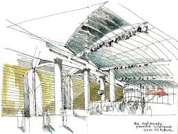 351 best architectural sketches drawings images on pinterest