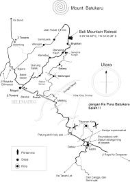 Map Of Bali Location Bali Mountain Retreat