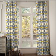 accessories yellow grey fabric curtain feature linen pattern