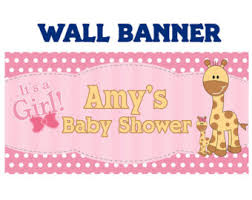 welcome home baby shower baby shower banners bannersusa