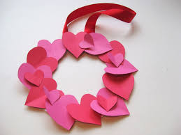 how to make a valentine u0027s day heart wreath heart wreath