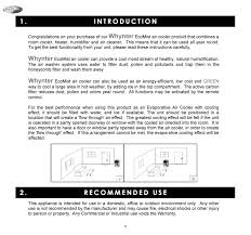 pdf manual for whynter air conditioner hac 100s