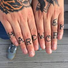 88 badass knuckle tattoos that look powerful