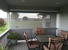 Solar Shades Cable Guided Solar Shades Northwest Shade Co