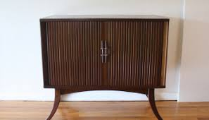 Rca Victrola Record Player Cabinet Mid Century Modern Slatted Stereo Record Player U2013 Rca Victrola