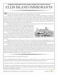 steerage worksheets articles and social studies
