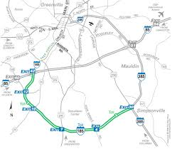 road map of south carolina south carolina innovative toll road goes bust the about cars