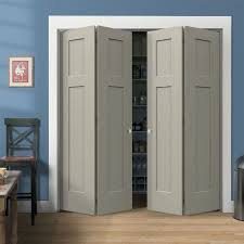 Solid Bifold Closet Doors Craftsman Molded Bifold Door By Lynden Door Lynden Door Inc