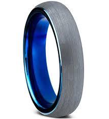 Tungsten Comfort Fit Wedding Bands 4mm Unisex Or Women U0027s Tungsten Wedding Band Ring Comfort Fit