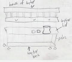 Diy Toy Box Bench Plans by Diy Potting Bench Toy Box Not Included Mrs Hines U0027 Class