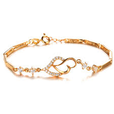 gold simple bracelet images Buy gold color bracelet new fashion simple style jpg