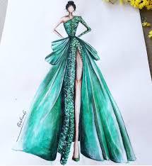 image result for dress sketches for fashion designing dresses