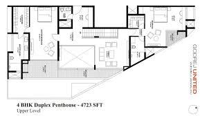 godrej united floor plans 3 u0026 4 bedroom apartments bangalore