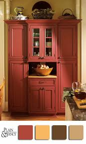 Colorful Kitchen Cabinets Kitchen Kitchen With Red Accents Kitchen Drop Table Kitchen