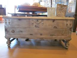 30 best collection of old trunks as coffee tables