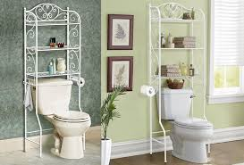 Bathroom Storage Behind Toilet 56 Over Toilet Shelves Over Toilet Shelf Submited Images