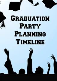 graduation party planning timeline a free infographic stress