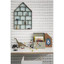 Wallpaper Home Decor Ferm Living Half Moon Wallpaper Mint White
