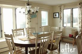 Window Treatments For Bay Windows In Dining Rooms Not Your Usual Kitchen Window Treatment
