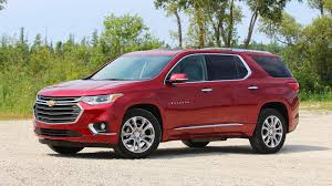 chevrolet traverse 2018 chevy traverse first drive go big and go home