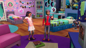 Kidsroom The Sims Kid At Heart Check Out The Sims 4 Kids Room Stuff