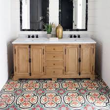 floor ideas for bathroom 16 bathroom floors that pull pattern wayfair