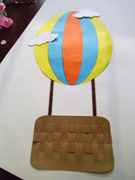 paper air balloon craft kit for kids by mimiscraftshack 1 25