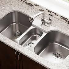 Kitchen Sink Basin by Triple Kitchen Sinks You U0027ll Love Wayfair