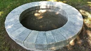 Concrete Fire Pit Exploding by How To Build A Fire Pit In Your Own Backyard Angie U0027s List
