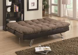 brown microfiber sofa bed sofa beds and futons contemporary brown microfiber dark brown