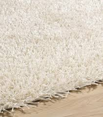 White Shaggy Rugs Polyester Rug Roselawnlutheran