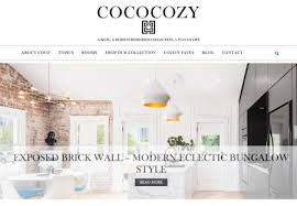 home decor blogs wordpress cococozy home decor blog wordpress custom design designed by
