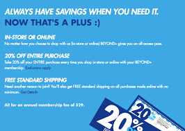 20 Off Entire Purchase Bed Bath And Beyond Bed Bath And Beyond 1 Year Membership 20 Off All Orders Free