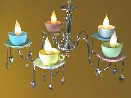 Tea Cup Chandelier Coffee Cup Chandelier The Alternative Consumer