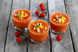 recette cuisine gaspacho espagnol recette gaspacho andalou 750g