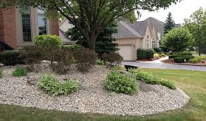Garden Decor With Stones Garden Ideas River Rock Landscaping Stone River Rock Landscaping