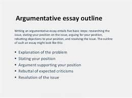 example of an essay outline format referencing narrative essay