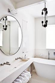 Bathroom White Porcelain Flooring Stainless by Bathroom Mirror Bathroom Ideas Black Tile Flooring White