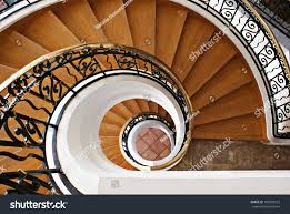 winding staircase enchanting home design