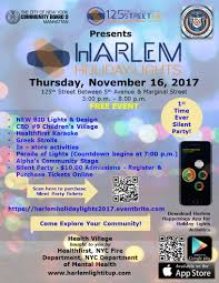 New York Ny Events U0026 Things To Do Eventbrite 125th Street Bid Harlem Holiday Lights 2017 Government And