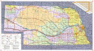 Time Zone Map Nebraska by Topographical Map Of Nebraska Topographic Map