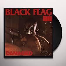 Black Flag Nervous Black Flag Damaged Vinyl Record