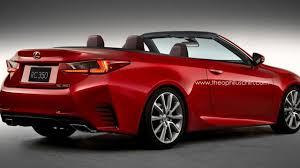lexus sport car convertible lexus rc convertible rendered for your pleasure