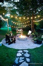 Summer Backyard Ideas Ideas For Your Backyard String Lights For A Country Cottage