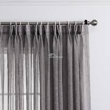 light grey sheer curtains light grey linen curtains home the honoroak