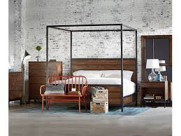 magnolia home by joanna gaines bedroom framework queen canopy bed